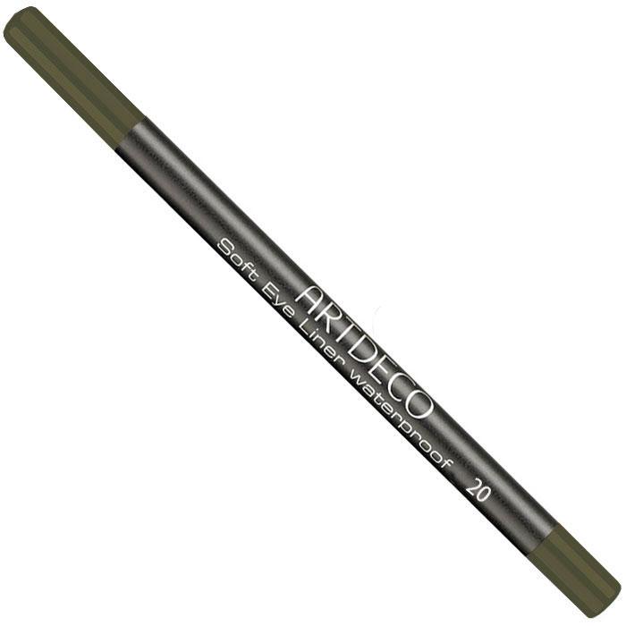Artdeco Карандаш для век водостойкий Soft Eye Liner Waterproof, тон №20, 1,2 г28032022Мягкий водостойкий карандаш для век Artdeco Soft Eye Liner Waterproof - экстремально стойкий карандаш с мягкой комфортной текстурой и антиоксидантными компонентами в составе формулы. Не имеет отдушки и подходит людям с чувствительными глазами. Характеристики:Вес: 1,2 г. Тон: №20. Производитель: Германия. Артикул: 221.20. Товар сертифицирован.