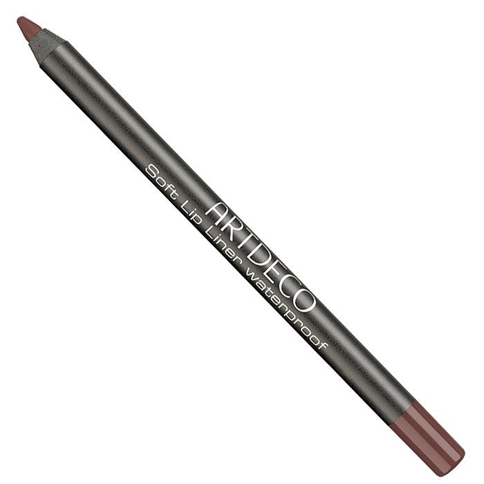 Artdeco Карандаш для губ водостойкий Soft Lip Liner Waterproof, тон №26, 1,2 гSC-FM20101Мягкий водостойкий карандаш для губ Artdeco Soft Lip Liner Waterproof обладает высоко-пигментированной формулой, которая содержит натуральные антиоксиданты. Приятная кремообразная консистенция карандаша наносится легко и гладко, быстро фиксируется. Прекрасная находка для комбинированной, склонной к жирности кожи. Он будет незаменим при занятиях спортом и на отдыхе. Характеристики:Вес: 1,2 г. Тон: №26. Производитель: Германия. Артикул: 172.26. Товар сертифицирован.