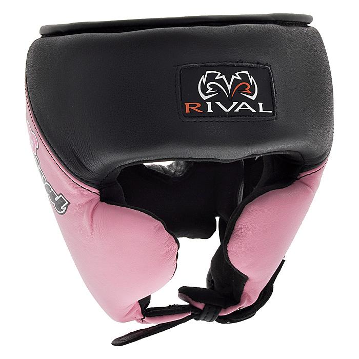 Шлем боксерский Rival, тренировочный, цвет: черно-розовый. Размер LadiB220Профессиональный тренировочный боксерский шлем Rival черно-розового цвета разработан специально для женщин и предназначен для предохранения головы от жестких ударов, травмирования бровей, ушей и лица. Внешняя поверхность шлема выполнена из натуральной кожи, внутренняя поверхность - из микрофибры. Благодаря двойному пенному наполнителю, шлем обеспечивает защиту в области лба, ушей и скул, а также создает дополнительный комфорт за счет анатомической подушки в тыльной части. Шлем регулируется по ширине в верхней части и прочно фиксируется на голове при помощи застежек на липучке Velcro. На подбородке шлем застегивается на прочную застежку с никелевым покрытием. Такой шлем погасит силу ударов и надежно защитит все зоны головы от повреждений. Характеристики:Размер: L. Цвет: черно-розовый. Минимальный размер шлема с учетом наполнителя (ДхШ): 21 см х 23 см х 21 см. Общая высота шлема: 24 см. Толщина наполнителя: 3,5 см. Материал:натуральная кожа, металл, пластик, текстиль. Размер упаковки: 23 см х 23 см х 23 см. Изготовитель:Пакистан. Артикул: RHG Pro W.