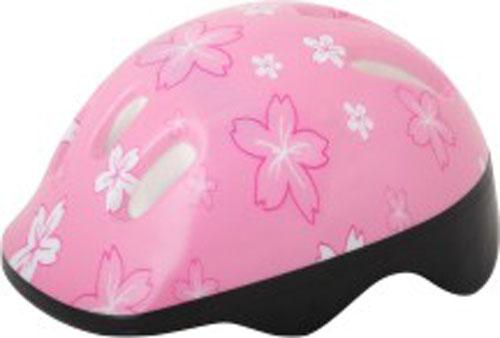 Шлем защитный Action, цвет: розовый. Размер XS (48/51)WRA523700Шлем Action послужит отличной защитой для ребенка во время катания на роликах или велосипеде.Он выполнен из плотного вспененного пенопласта, покрытого пластиковой пленкой и отлично сидит на голове, благодаря мягким вставкам на внутренней стороне. Шлем снабжен системой вентиляции и крепится при помощи удобного регулируемого ремня с пластиковым карабином, застегивающимся на подбородке.Оформлен он изображениями цветов. Характеристики:Материал: пластик, пенопласт, текстиль, поролон. Обхват шлема: 48-51 см. Размер шлема: 25 см х 19 см х 13 см. Размер упаковки: 26 см х 20 см х 13 см. Артикул: PWH-1.