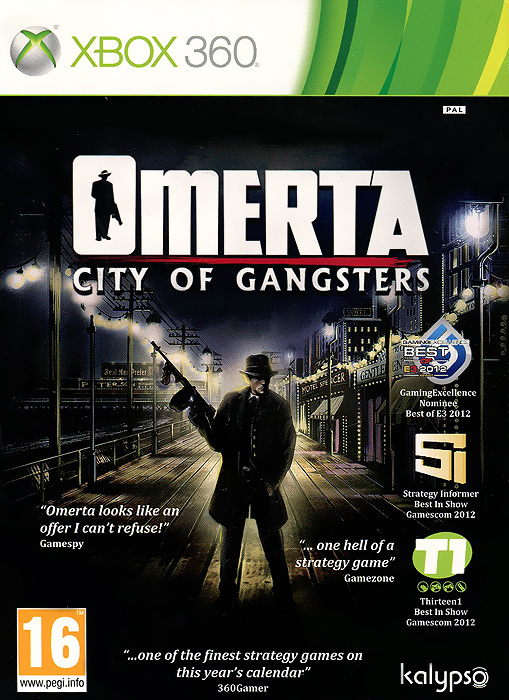 Omerta. City of Gangsters (Xbox 360)