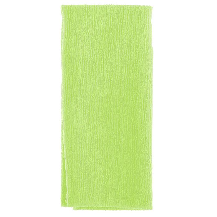 Marna Мочалка Water Color, цвет: зеленый5010777139655Мочалка Water Color, выполненная из нейлона зеленого цвета, оказывает массирующее воздействие на кожу: стимулирует циркуляцию крови, очищает поры, способствует обмену веществ, происходящему в клетках кожи. Благодаря уникальному переплетению нитей мочалка быстро образует пену при минимальном количестве мыла. Быстро сохнет. Идеальна для поездок и путешествий - легкий вес и форма мочалки позволяет ей легко разместиться в любом багаже. Характеристики:Материал: 100% нейлон. Цвет: зеленый. Размер мочалки: 27 см х 105 см. Артикул: B438G. Товар сертифицирован.