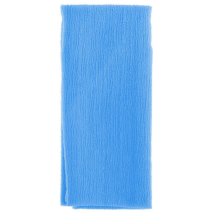 Marna Мочалка Water Color, цвет: синий571Мочалка Water Color, выполненная из нейлона синего цвета, оказывает массирующее воздействие на кожу: стимулирует циркуляцию крови, очищает поры, способствует обмену веществ, происходящему в клетках кожи. Благодаря уникальному переплетению нитей мочалка быстро образует пену при минимальном количестве мыла. Быстро сохнет. Идеальна для поездок и путешествий - легкий вес и форма мочалки позволяет ей легко разместиться в любом багаже. Характеристики:Материал: 100% нейлон. Цвет: синий. Размер мочалки: 27 см х 105 см. Артикул: B438B. Товар сертифицирован.