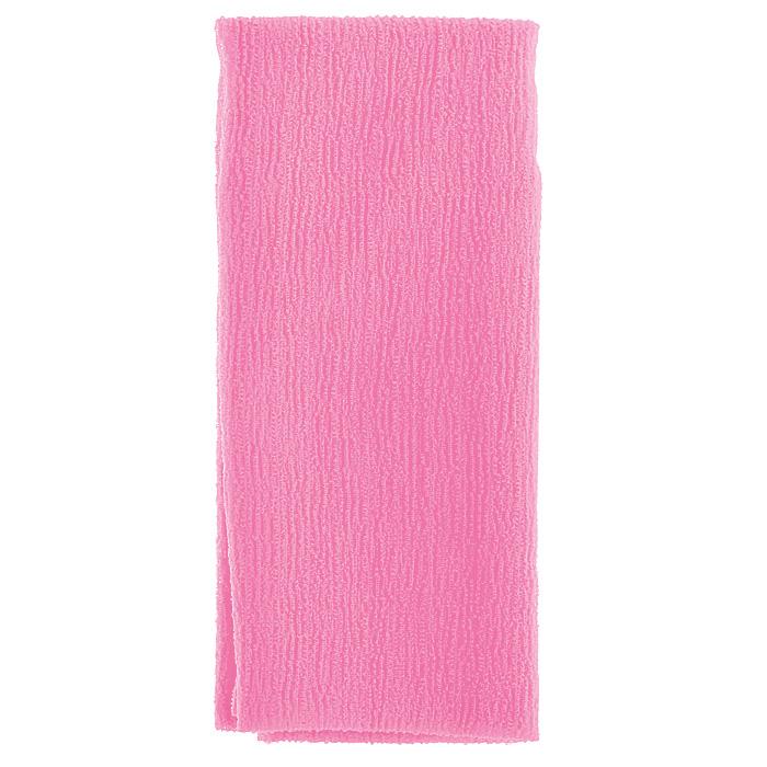 Marna Мочалка Water Color, цвет: розовыйSC-FM20104Мочалка Water Color, выполненная из нейлона розового цвета, оказывает массирующее воздействие на кожу: стимулирует циркуляцию крови, очищает поры, способствует обмену веществ, происходящему в клетках кожи. Благодаря уникальному переплетению нитей мочалка быстро образует пену при минимальном количестве мыла. Быстро сохнет. Идеальна для поездок и путешествий - легкий вес и форма мочалки позволяет ей легко разместиться в любом багаже. Характеристики:Материал: 100% нейлон. Цвет: розовый. Размер мочалки: 27 см х 105 см. Артикул: B438P. Товар сертифицирован.