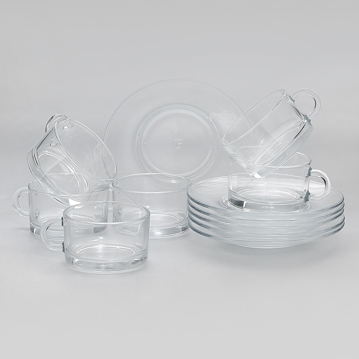 Набор кофейный Side, 12 предметовVT-1520(SR)Кофейный набор Side, выполненный из высококачественного прочного стекла, состоит из шести чашек и шести блюдец. Элегантный дизайн и изящные формы предметов набора привлекут к себе внимание и украсят интерьер.Набор Side идеально подойдет для сервировки стола и станет отличным подарком к любому празднику. Характеристики:Материал:натрий-кальций-силикатное стекло. Диаметр блюдца:12,5 см. Диаметр чашки:6,5 см. Высота чашки:3,8 см. Размер упаковки:22 см х 15 см х 9 см. Артикул:98400.