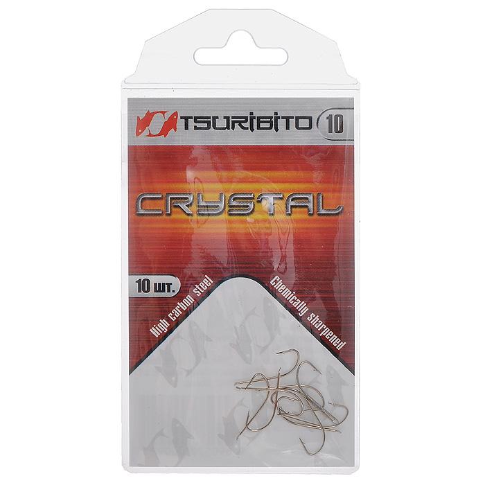 Крючок рыболовный Tsuribito Crystal, №10, 10 штMABLSEH10001Одинарный рыболовный крючок Tsuribito Crystal с головкой лопаточкой станет незаменимым аксессуаром для ловли мирных видов рыбы. Крючок - одна из главных составляющих рыболовного комплекта, поэтому важно уметь правильно выбрать его и оснастить удилище. Характеристики:Материал: никель.Номер крючка: 10.Длина крючка: 1,4 см.Ширина крючка: 0,5 см.Количество: 10 шт.Размер упаковки: 10,5 см х 5 см х 0,2 см.Производитель: Корея.Артикул: 34628.