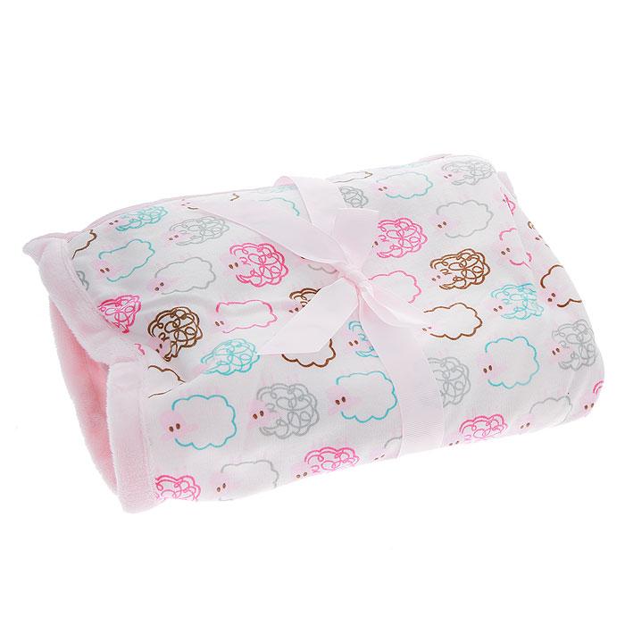 Плед детский Овечки, цвет: розовый, 76 см х 101 см1-15Мягкий и уютный детский плед Овечки словно создан для того, чтобы окружить теплотой и радостью маленькую кроху. Он прекрасно подходит для укрывания малыша, как дома, так и на прогулке в коляске.Плед изготовлен из мягкого полиэстера джерси, подкладка из плюша имитирует искусственный мех. Плед очень мягкий, нежный и приятный на ощупь. Оформлен он принтом с изображением овечек.Благодаря размерам и практичному материалу плед очень удобен в использовании.Детский плед Овечки - лучший выбор родителей, которые хотят подарить ребенку ощущение комфорта и надежности уже с первых дней жизни. Рекомендации по уходу: Машинная стирка при 30°С, деликатный отжим. Характеристики:Размер: 76 см х 101 см. Материал: 100% полиэстер. Изготовитель: Индия.