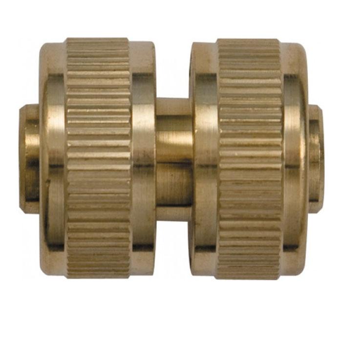 Муфта ремонтная FIT, латунь, 3/401251-29.000.00Предназначена для быстрого соединения двух участков поливочного шланга 3/4 для ремонта поврежденного участка или наращивания длины. Характеристики: Материал: ABS пластик, резина. Размер муфты: 5,5 см х 3,5 см х 3,5 см. Размер в упаковке: 9,7 см х 14,6 см х 5 см.