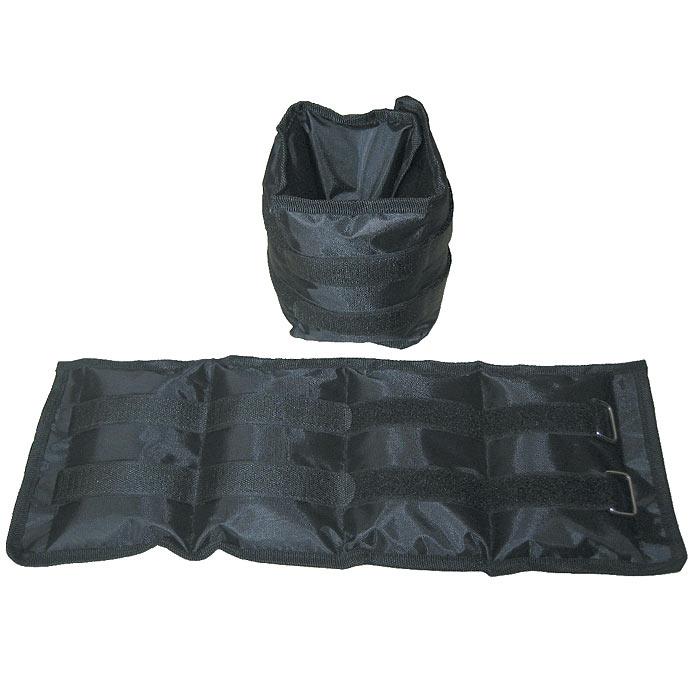 Утяжелители Atemi, цвет черный, 2 х 2 кг10231Утяжелители Atemi придадут мышцам дополнительную нагрузку, превышающую обычный уровень их напряжения во время упражнений. Вы можете надевать их, занимаясьходьбой, бегом, гимнастикой. Эти утяжелители прочно и комфортно крепятся на запястьях и лодыжках, обеспечивая серьезную нагрузку, совершенно не сковывая движения.Таким образом, тренировке придается аэробный эффект, в умеренных количествах благотворно влияющий на состояние сердца. Используя утяжелители, вы повысите результативность упражнений, быстрее избавитесь от лишнего веса, подготовите тело к усложненной программе тренировок.Утяжелители фиксируются липучками. Характеристики:Материал: ПВХ, металл, нейлон. Вес утяжелителя: 2 кг (металлическая крошка). Размер упаковки: 31 см х 15,5 см х 7 см. Изготовитель: Китай. Артикул: SF0015.