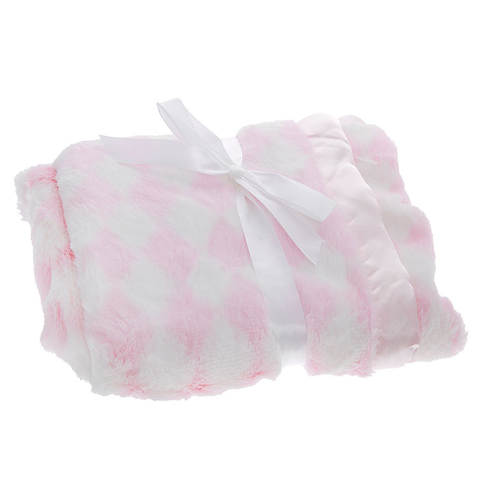 Плед детский на атласной подкладке Ромбики, цвет: розовый, 76 см х 101 см012H1800Мягкий и уютный детский плед Ромбики словно создан для того, чтобы окружить теплотой и радостью маленькую кроху. Он прекрасно подходит для укрывания малыша как дома, так и на прогулке в коляске.С одной стороны плед выполнен из мягкого плюшевого полиэстера, с другой - из атласной ткани. Плед очень мягкий, нежный и приятный на ощупь.Благодаря размерам и практичному материалу плед очень удобен в использовании.Детский плед Ромбики - лучший выбор родителей, которые хотят подарить ребенку ощущение комфорта и надежности уже с первых дней жизни. Рекомендации по уходу: Машинная стирка при 30°С, деликатный отжим. Характеристики:Размер: 76 см х 101 см. Материал: 100% полиэстер. Изготовитель: Индия.