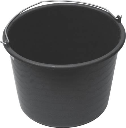 Пластиковое ведро FIT, 20 л1.645-504.0Для перемешивания строительных растворов. Характеристики:Материал:пластик, металл. Размер ведра:37 см x 37 см x 23,5 см. Объем:20 л. Размер упаковки:37 см x 37 см x 23,5 см.