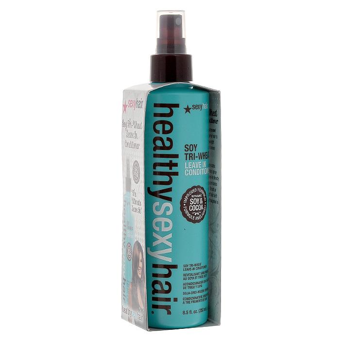 Sexy Hair Кондиционер для волос Healthy, несмываемый, 250 млCF5512F4Три протеина пшеницы обволакивают волосы, закрывая кутикулы, что обеспечивает легкое расчесывание. Протеины сои глубоко проникают в волосы, активно питают, укрепляют и увлажняют их, предохраняя от негативного воздействия солнечных лучей и окружающей среды. Укрепляет, смягчает и моментально распутывает волосы, защищает от статического электричества. Наносить на влажные волосы после мытья шампунем, приподнимая пряди. Не смывать. Характеристики:Объем: 250 мл. Производитель: США. Товар сертифицирован.