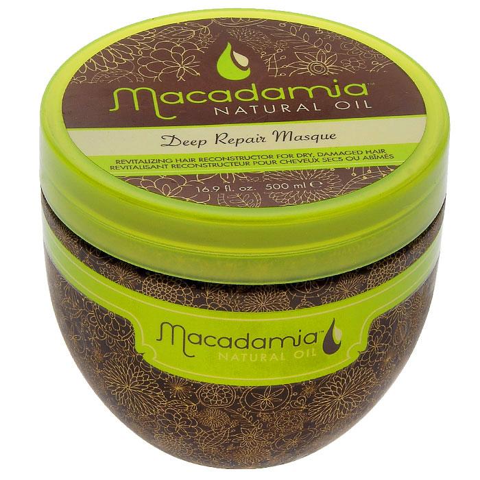 Macadamia Natural Oil Маска для волос восстанавливающая, интенсивного действия, с маслом арганы и макадамии, 500 мл72523WDМаска Macadamia Natural Oil - это оживляющий реконструктор сухих, поврежденных волос. Сочетание масла макадамии и арганы вместе с маслами чайного дерева, ромашки, алое и экстрактов водорослей оживляет и восстанавливает волосы, глубоко питая их и возвращая им эластичность и блеск, с пролонгированным кондиционирующим эффектом.Способ применения: распределите небольшое количество маски на чистых, вымытых шампунем восстанавливающим с маслом арганы и макадамии и подсушенных полотенцем волосах от корней до кончиков. Оставьте для воздействия на 7 минут. Смойте. Не используйте чаще двух раз в неделю. Характеристики:Объем: 500 мл. Производитель: США. Товар сертифицирован.
