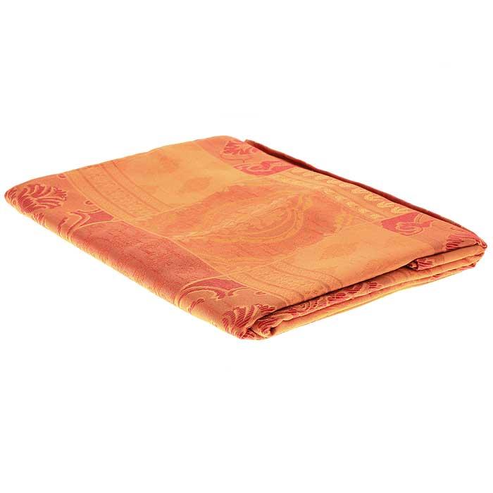 Гардина Schaefer на петлях, цвет: оранжевый, 140 см х 250 см. 06613-605S03301004Гардина Schaefer выполнена из полиэстера оранжевого цвета с изысканных витиеватым рисунком. В верхнюю часть гардины вшиты специальные петли. Для подвешивания гардины достаточно лишь продеть в них карниз. Гардина прекрасно подойдет для подвешивания на настенный карниз.Оригинальное оформление гардины внесет разнообразие и подарит заряд положительного настроения. Характеристики:Материал: 100% полиэстер. Размер гардины (Ш х В): 140 см х 250 см. Цвет: оранжевый. Ширина петли: 4,5 см. Длина петли: 10 см. Артикул: 06613-605. Немецкая компания Schaefer создана в 1921 году. На протяжении всего времени существования она создает уникальные коллекции домашнего текстиля для гостиных, спален, кухонь и ванных комнат. Дизайнерские идеи немецких художников компании Schaefer воплощаются в текстильных изделиях, которые сделают ваш дом красивее и уютнее и не останутся незамеченными вашими гостями. Дарите себе и близким красоту каждый день!