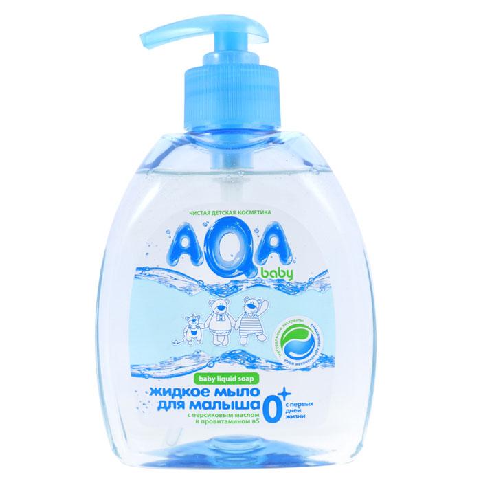 Жидкое мыло для малыша Mann & Schroeder AQA baby, 300 мл9Жидкое мыло Mann & Schroeder AQA baby разработано для ежедневного очищения кожи малыша с самого рождения. Оно обеспечивает длительную защиту от бактерий и не вызывает раздражения. Ценное масло персика и специально подобранный комплекс растительных экстрактов ромашки, календулы и лаванды мягко очищает нежную кожу крохи, не вызывая сухости и шелушения, а провитамин В5 питает ее.Мыло не содержит красителей и обладает приятным нежным ароматом. Экономичный флакон с дозатором удобен в использовании. Характеристики:Рекомендуемый возраст: от 0 месяцев. Объем: 300 мл. Изготовитель: Россия.