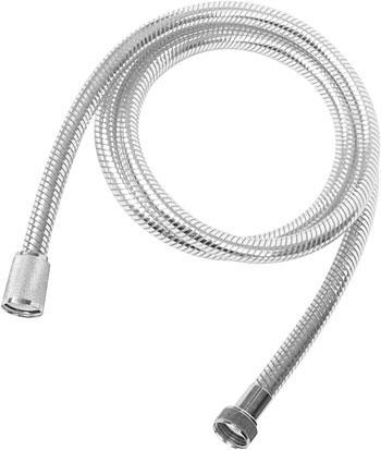Шланг Duschy Silverflex, 2 м20082Пластиковый усиленный шланг со встроенной пружиной. Имеет защиту от залома. Конусная гайка. Характеристики: Материал: пластик пвх, латунь. Размер: 200 см х 5 см х 5 см. Размер упаковки: 32 см х 22 см х 4 см.