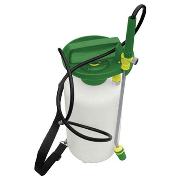 Опрыскиватель FIT, 8 л. 773331.645-504.0Опрыскиватель FIT имеетбольшой объем, за счет чего сможет вместить нужноеколичество жидкости для обработки помещений от грызунов и насекомых и опрыскивания химикатами садово-огородных культур в целях профилактики от болезней. Для большего удобстваинструментоснащен наплечным ремнем. Характеристики:Материал: пластик. Цвет: белый, зеленый. Объем: 8 л. Размеры опрыскивателя: 17 см x 17 см x 55 см. Размер упаковки: 17,5 см x 18 см x 55 см.