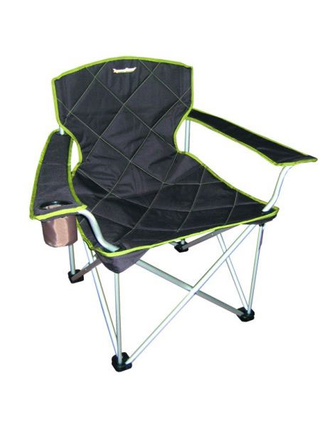 Кресло складное RockLand КРА71121Кресло складное RockLand КРА предназначено для использования дома и на отдыхе. Изготовлено из прочного текстиля. Кресло имеет подставку для стакана. Характеристики:Материал: текстиль, металл. Максимальная нагрузка: 100 кг. Размер кресла: 62 см х 49 см х 48/92 см. Артикул: 8813921.