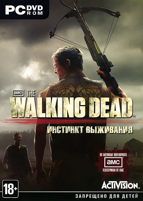 The Walking Dead. Инстинкт выживания (DVD-BOX) экшен камера