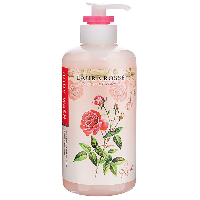 Laura Rosse Жидкое мыло для тела Ароматерапия. Роза, 500 мл мыло для очищения любых поверхностей zero оливковое натуральное 500 мл