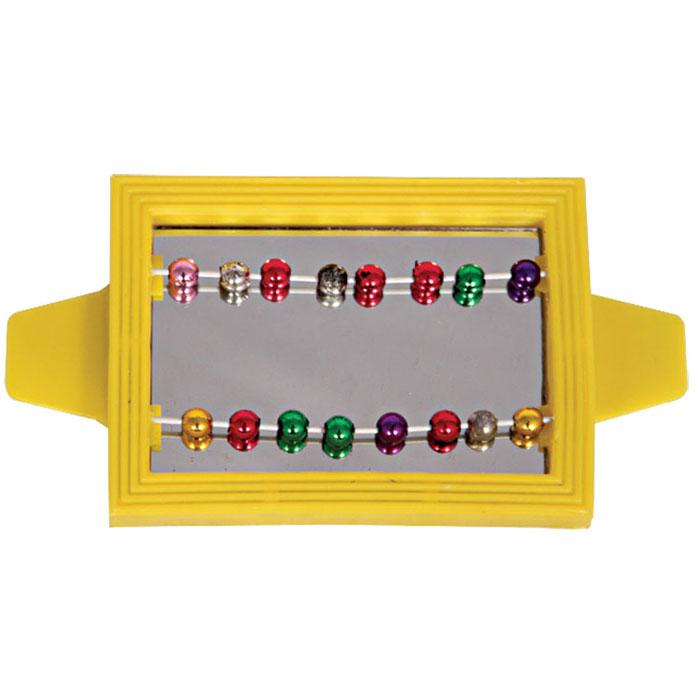 Игрушка для птиц Triol Зеркало с бусинками, цвет: желтый0120710Игрушка Triol Зеркало с бусинками, изготовленная из пластика, предназначена для птиц. Зеркало в яркой оправе оснащено двумя металлическими прутиками с подвижными разноцветными бусинами. Такая игрушка не даст скучать вашему питомцу.