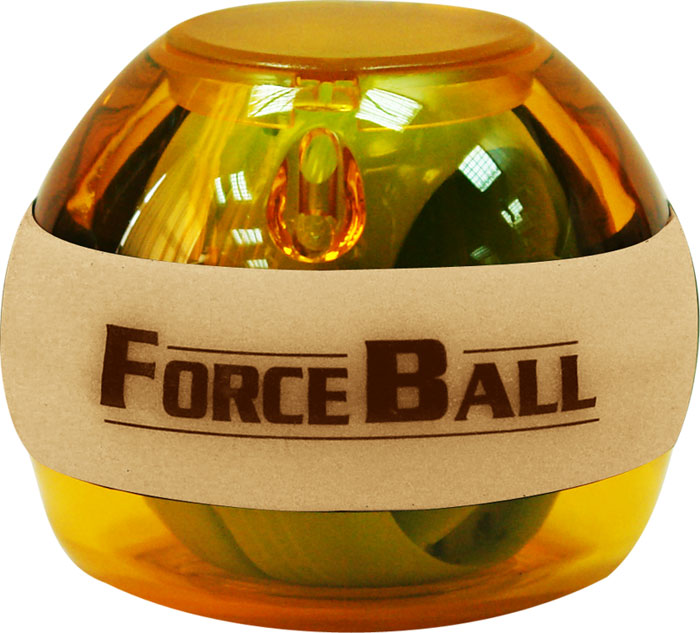 Кистевой тренажер Forceball Neon, цвет: оранжевый powerball neon red pro кистевой тренажер со счетчиком