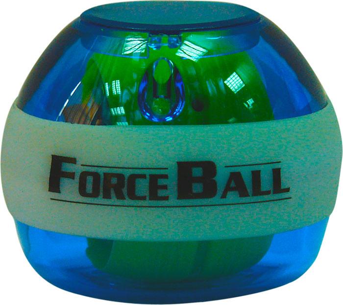 Кистевой тренажер Forceball Neon, цвет: синий powerball neon red pro кистевой тренажер со счетчиком