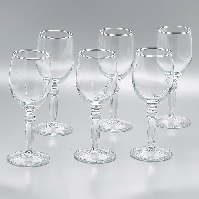 Набор фужеров Step, 210 мл, 6 штVT-1520(SR)Набор Step, состоящий из шести фужеров на высокой ножке, изготовленых из прочного высококачественного прозрачного стекла, несомненно, придется вам по душе. Фужеры предназначены для подачи вина. Фужеры сочетают в себе элегантный дизайн и функциональность. Благодаря такому набору пить напитки будет еще вкуснее.Набор фужеров Step идеально подойдет для сервировки стола и станет отличным подарком к любому празднику. Характеристики:Материал: стекло. Диаметр фужера по верхнему краю:6 см. Высота фужера:17 см. Диаметр основания фужера:7 см. Объем фужера:210 мл. Комплектация:6 шт. Размер упаковки (Д х Ш х В):23 см х 15 см х 18 см. Производитель:Турция. Артикул:44654.
