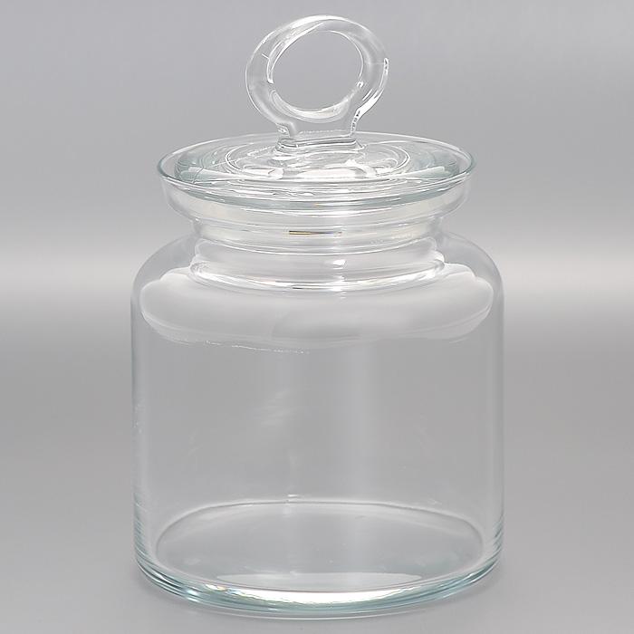 Банка для хранения Kitchen, 0,9 лVT-1520(SR)Банка Kitchen, выполненная из высококачественного стекла, станет незаменимым помощником на кухне. В ней будет удобно хранить разнообразные сыпучие продукты, такие как кофе, крупы, макароны или специи, а также она подойдет для хранения варенья, меда и различных жидкостей. Емкость легко закрывается стеклянной крышкой. Характеристики: Материал: стекло. Диаметр банки: 10 см. Высота банки (без учета крышки): 13 см. Размер упаковки (Д х Ш х В): 12 см х 12 см 16 см. Объем банки: 0,9 л. Производитель: Турция. Артикул: 98671.