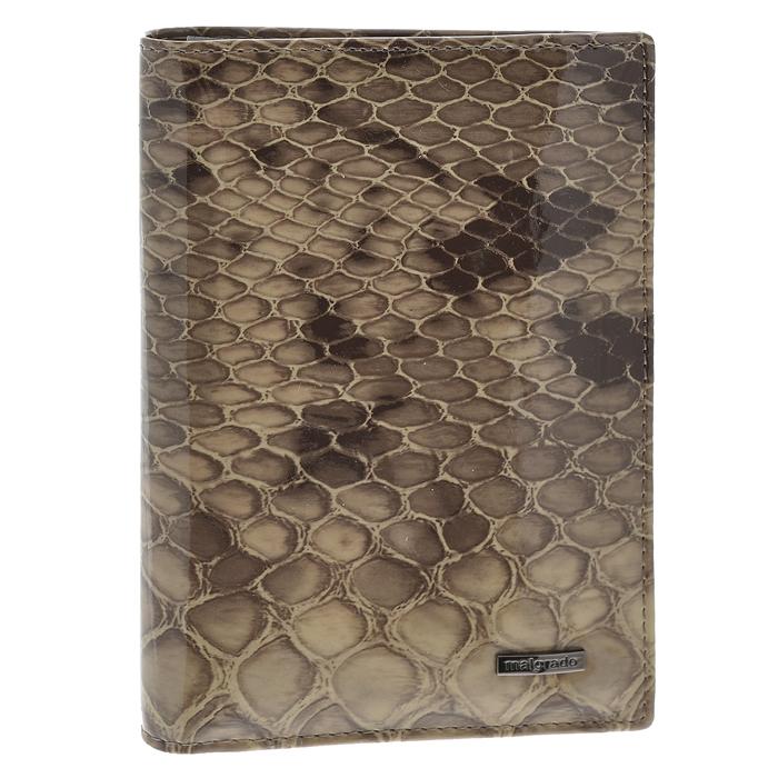 Обложка для паспорта Malgrado, цвет: бежевый. 54019-1-19902O.8.TXF.черныйСтильная обложка для паспорта Malgrado изготовлена из натуральной лакированной кожи бежевого цвета. Внутри содержит прозрачное пластиковое окно, съемный прозрачный вкладыш для полного комплекта автодокументов, пять отделений для кредитных и дисконтных карт. Обложка упакована в подарочную картонную коробку с логотипом фирмы. Такая обложка станет замечательным подарком человеку, ценящему качественные и практичные вещи. Характеристики:Материал: натуральная кожа, пластик. Размер обложки: 13,5 см х 9,5 см х 1,5 см. Цвет: бежевый.Размер упаковки:15,5 см х 11,5 см х 3,5 см. Артикул: 54019-1-19902.