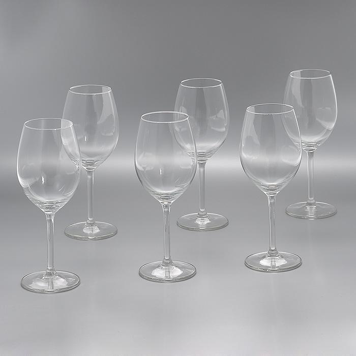 Набор бокалов для вина Lesprit Du Vin, 330 мл, 6 штVT-1520(SR)Набор Lesprit Du Vin, выполненный из высококачественного стекла, состоит из шести бокалов на ножке. Бокалы предназначены для подачи вина. Набор оценят как любители классики, так и те, кто предпочитает современный дизайн.Набор бокалов Lesprit Du Vin идеально подойдет для сервировки стола и станет отличным подарком к любому празднику. Характеристики:Материал: стекло. Комплектация: 6 шт. Объем: 330 мл. Диаметр бокала по верхнему краю:5,7 см. Высота бокала:20 см. Диаметр основания:7 см. Артикул:Гл 574036.