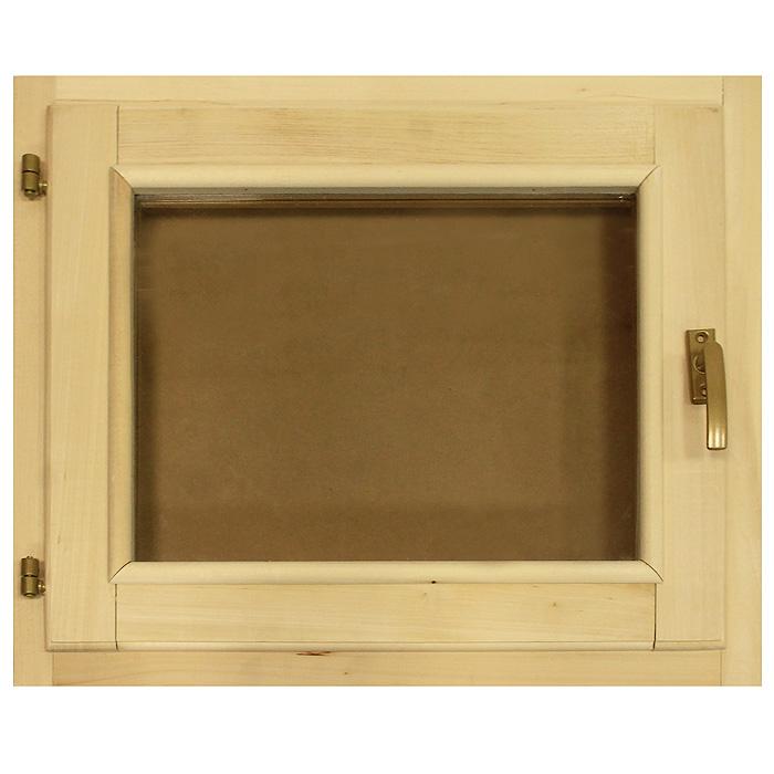 Форточка со стеклопакетом Банные штучки, 60 х 50 см391602Горизонтальная форточка со стеклопакетом Банные штучки изготовлена из липы и имеет вставку из стекла. В комплект входит: - Створка с однокамерным стеклопакетом (2 стекла); - Коробка из липы; - Петли; - 2 шурупа; - Ручка-затвор. Форточка уже собрана и готова к использованию, вам только достаточно прикрутить ручку и установить стеклопакет в проем. Окна и форточки в парной используют для быстрого выветривания влаги в помещении после банных процедур. Это продлевает срок службы деревянной обшивки, снижается риск образования плесени и грибка внутри помещения. Характеристики:Материал: дерево (липа), металл, стекло. Размер форточки: 60 см х 50 см. Толщина форточки: 7 см. Размер стеклянного окошка: 40 см х 30 см. Артикул: 03726.