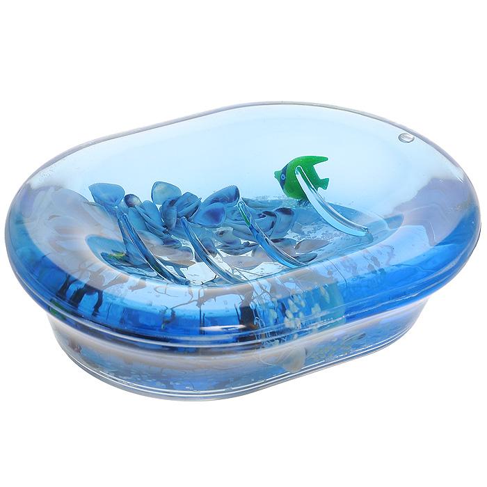 Мыльница Морские рыбки68/5/1Оригинальная мыльница Морские рыбки, изготовленная из прозрачного пластика, отлично подойдет для вашей ванной комнаты. Внутри мыльницы гелиевый наполнитель с маленькими ракушками, рыбками и веточками.Такая мыльница создаст особую атмосферу уюта и максимального комфорта в ванной. Характеристики: Материал: пластик, акрил, гелиевый наполнитель. Цвет: голубой, белый, черный. Размер мыльницы: 13,5 см х 10 см х 3,5 см. Производитель: Швеция. Изготовитель: Китай. Размер упаковки: 14,5 см х 10,5 см х 4 см. Артикул: 334-04.