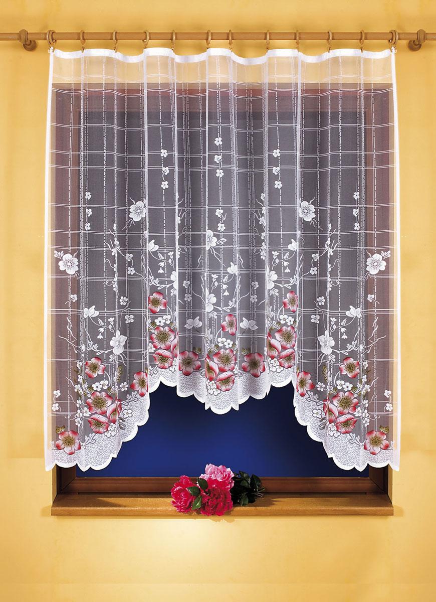 Гардина Muza, цвет: белый, высота 160 см5380D/60Гардина Muza, изготовленная из полиэстера белого цвета, станет великолепным украшением кухонного окна. Тонкое плетение и яркий цветочный принт привлекут к себе внимание и органично впишутся в интерьер. Гардина крепится к карнизу только при помощи зажимов (в комплект не входят). Характеристики:Материал: 100% полиэстер. Цвет: белый. Размер упаковки:27 см х 36 см х 3 см. Артикул: 607471.В комплект входит: Гардина - 1 шт. Размер (ШхВ): 220 см х 160 см. Фирма Wisan на польском рынке существует уже более пятидесяти лет и является одной из лучших польских фабрик по производству штор и тканей. Ассортимент фирмы представлен готовыми комплектами штор для гостиной, детской, кухни, а также текстилем для кухни (скатерти, салфетки, дорожки, кухонные занавески). Модельный ряд отличает оригинальный дизайн, высокое качество. Ассортимент продукции постоянно пополняется.