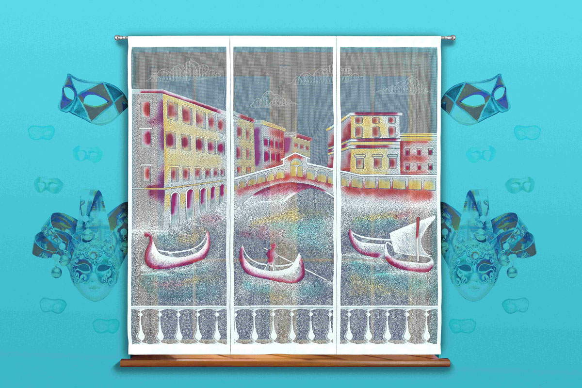 Гардина-панно Венеция, на кулиске, цвет: белый, высота 170 смPANTERA SPX-2RSВоздушная гардина-панно Венеция, изготовленная из полиэстера белого цвета, станет великолепным украшением любого окна. Тонкое плетение и рисунок гондолы и зданий привлечет к себе внимание и органично впишется в интерьер. Гардина оснащена кулиской для крепления на круглый карниз. Характеристики:Материал: 100% полиэстер. Цвет: белый. Высота кулиски: 7 см. Размер упаковки:26 см х 2 см х 36 см. Артикул: 718504.В комплект входит:Гардина-панно - 1 шт. Размер (ШхВ): 150 см х 170 см.Фирма Wisan на польском рынке существует уже более пятидесяти лет и является одной из лучших польских фабрик по производству штор и тканей. Ассортимент фирмы представлен готовыми комплектами штор для гостиной, детской, кухни, а также текстилем для кухни (скатерти, салфетки, дорожки, кухонные занавески). Модельный ряд отличает оригинальный дизайн, высокое качество. Ассортимент продукции постоянно пополняется.УВАЖАЕМЫЕ КЛИЕНТЫ!Обращаем ваше внимание на цвет изделия. Цветовой вариант гардины-панно, данной в интерьере, служит для визуального восприятия товара. Цветовая гамма данной гардины-панно представлена на отдельном изображении фрагментом ткани.