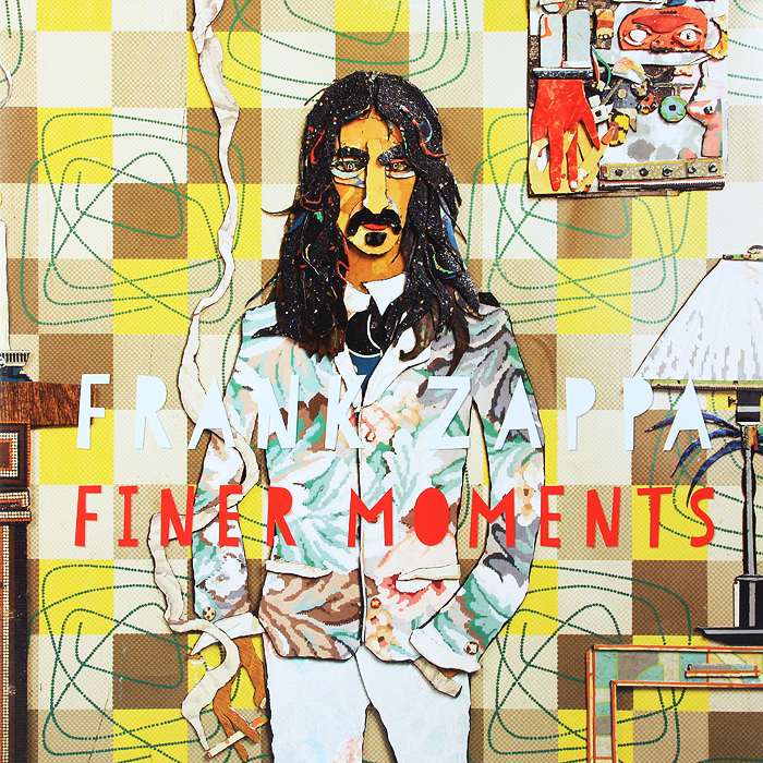 Фрэнк Заппа Frank Zappa. Finer Moments (2 LP) frank zappa gold record signature series ltd edition display