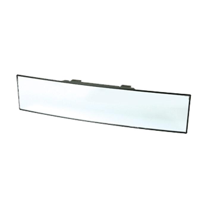 Зеркало внутрисалонное панорамное Koto, 30 смCA-3505Зеркало соответствует европейским стандартам. На обратной стороне зеркала находятся регулируемые крепежи, позволяющие надежно зафиксировать зеркало. Зеркало выполнено из высококачественных материалов, устраняет наложение и искажение вида.Зеркало не может быть установлено:Если высота более 78 мм или менее 57 мм.На имеющееся зеркало при отстутствии свободного пространства сверху (не менее 5 мм).В машинах с автоматическими зеркалами. Характеристики: Материал: стекло, пластик. Размер зеркала: 30 см х 7 см х 3 см. Размер упаковки: 38,5 см х 11 см х 3 см.