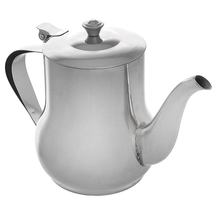 Чайник заварочный Mayer & Boch с фильтром, 1 л. MB-40394672Заварочный чайник выполнен из высококачественной нержавеющей стали, что делает его весьма гигиеничными и устойчивыми к износу при длительном использовании. Гладкая и ровная поверхность существенно облегчает уход. Выполненный из качественных материалов чайник при кипячении сохраняет все полезные свойства воды. Чайник имеет вынимающийся фильтр и крышку из нержавеющей стали. Ручка чайника изготовлена из пластика. Чайник Mayer & Boch подходит для использования на электрических, газовых и стеклокерамических плитах. Также изделие можно мыть в посудомоечной машине. Характеристики: Материал: нержавеющая сталь, пластик. Объем:1 л. Диаметр основания чайника: 9 см. Высота чайника (с учетом ручки):15,5 см. Диаметр чайника по верхнему краю:9 см. Высота стенок чайника:12,5 см. Размер упаковки:18,5 см х 12 см х 15,5 см. Артикул:MB-403.