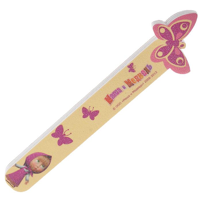 Детская пилочка для ногтей Бабочка2451-MW-01Детская пилочка для ногтей Бабочка предназначена для легкого и комфортного ухода за детскими ноготками. Пилочка изготовлена из вспененного полимера, покрытого мелким абразивом, и оформлена изображением бабочки и Маши - героини популярного мульсериала Маша и медведь. Характеристики:Материал: вспененный полимер, абразив. Длина пилочки:10 см. Изготовитель: Китай.