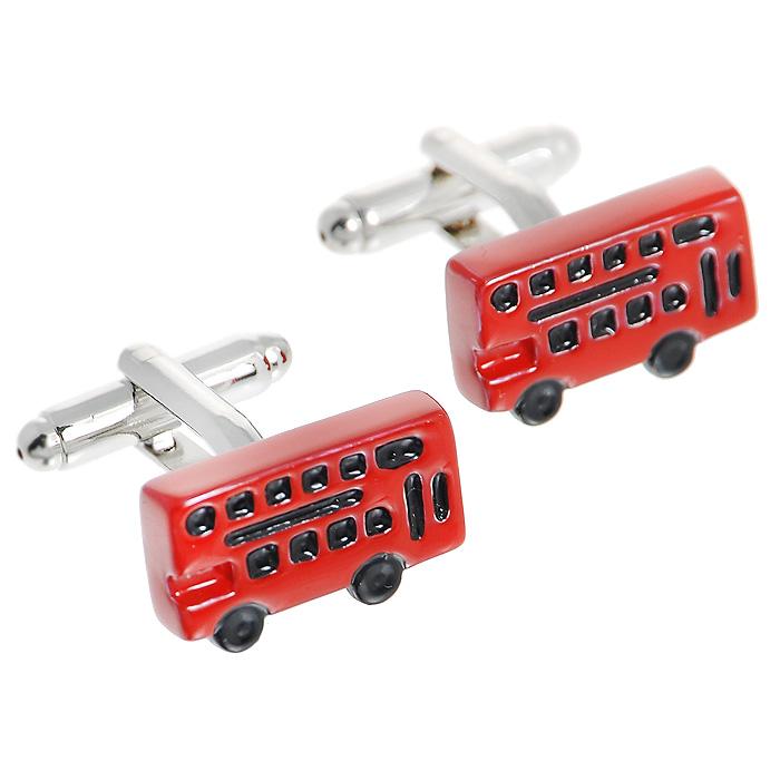 Запонки Double deck bus. ZAP-048Брелок для ключейЗапонки Автобус изготовлены из серебряного металла и выполнены в виде красного автобуса. Такие запонки, непременно, станут объектом внимания. Мужские запонки великолепного дизайна будут отличным подарком для каждого. Запонки - символ мужской элегантности. Они являются неотъемлемой частью вечернего туалета. Выбирайте запонки в зависимости от вашего настроения, а также впечатления, которое вы хотите произвести на окружающих. Изделие упаковано в подарочную коробку. Характеристики: Материал: металл. Размер декоративной части запонки: 1,8 см x 1 см. Высота запонки: 2 см. Размер упаковки: 8 см x 3 см x 4 см. Артикул: ZAP-48.