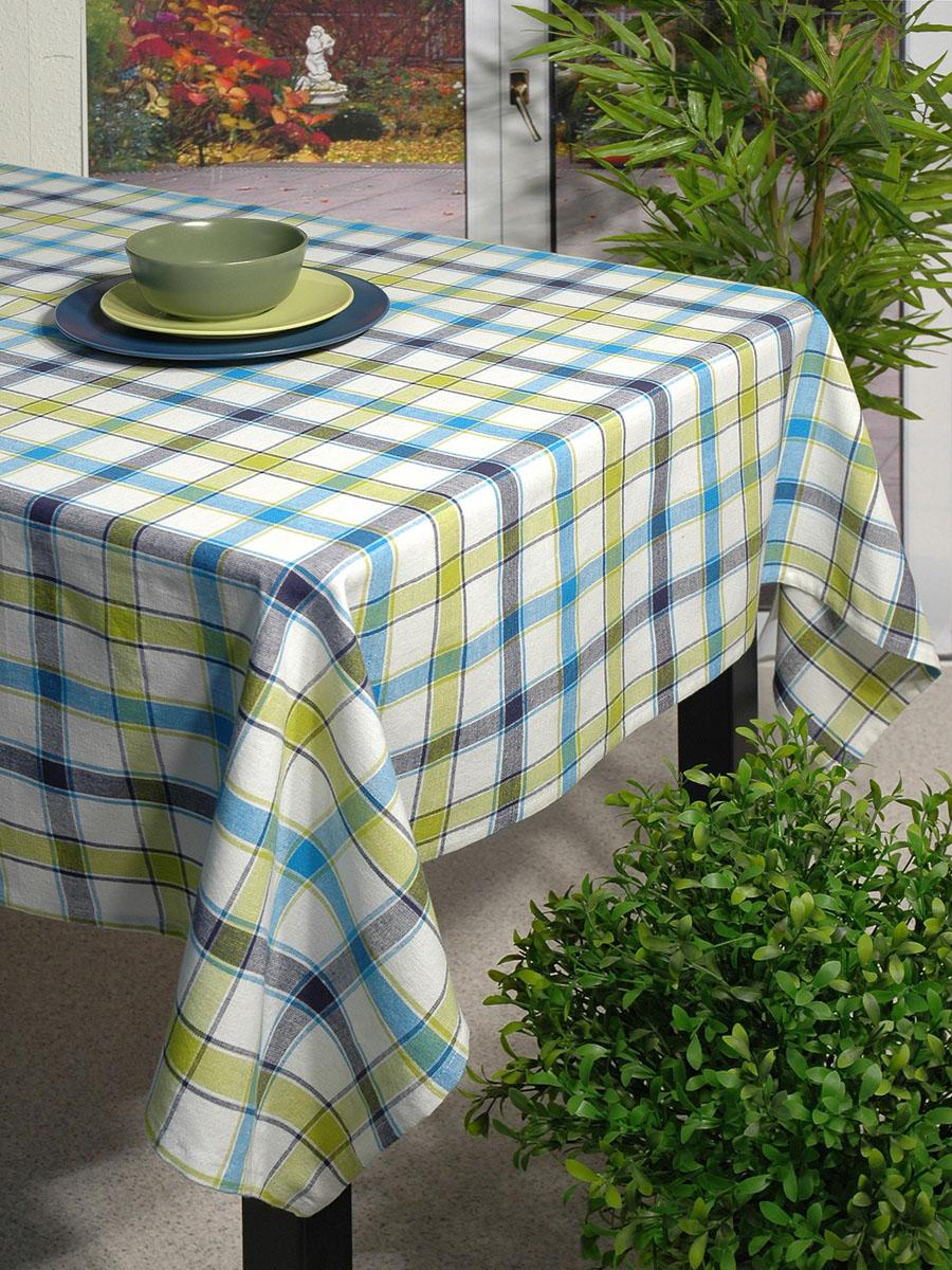 Скатерть Schaefer, прямоугольная, 110x 140 см. 07107-419AMC-00070Прямоугольная скатерть Schafer выполнена из натурального хлопка и оформлена рисунком в классическую клетку в зелено-голубых тонах. Эта скатерть станет украшением вашей кухни или веранды в вашем доме. Очень позитивная расцветка добавит массу позитивных эмоций вам и вашим гостям! Характеристики:Материал: 100% хлопок. Размер скатерти:110 см х 140 см. Артикул:07107-419. Немецкая компания Schaefer создана в 1921 году. На протяжении всего времени существования она создает уникальные коллекции домашнего текстиля для гостиных, спален, кухонь и ванных комнат. Дизайнерские идеи немецких художников компании Schaefer воплощаются в текстильных изделиях, которые сделают ваш дом красивее и уютнее и не останутся незамеченными вашими гостями. Дарите себе и близким красоту каждый день!