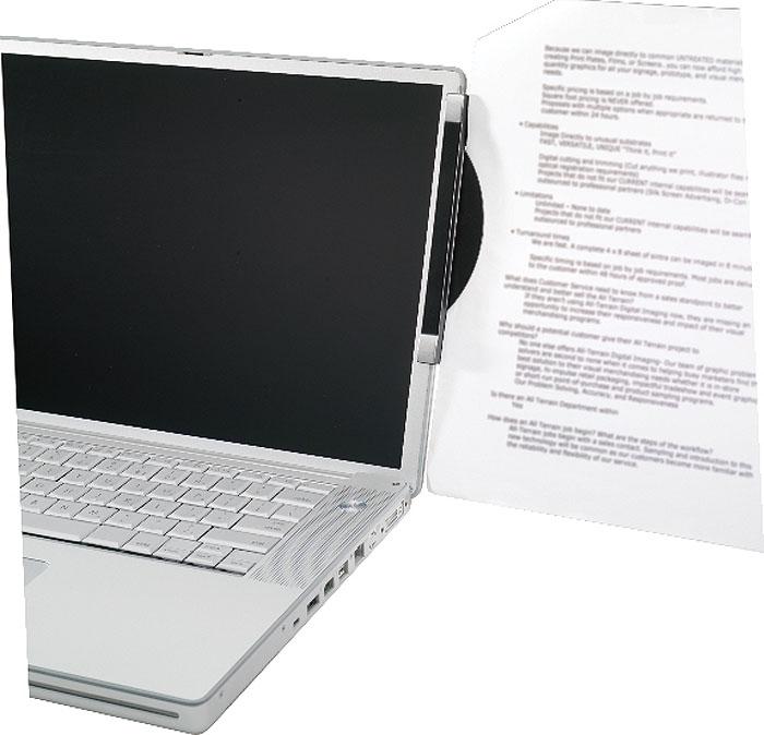 Держатель д/бумаг ProfiOffice (крепл.д/мониторов),2шт. 01107FS-54100Пластиковый держатель для бумаг, в блистерной упаковке, 2 штуки.Удерживает от 1 до 10 листов. Подходит для большинства мониторов. Длина каждого 150 мм. Крепится на монитор как слева так и справа.Клейкие крепления не оставляют следов и могут быть исползованы несколько раз. Цвет графит, декоративные элементы - серебро.Размерв упаковке (ДхШхВ), см: 25*11*1 (блистерная упаковка).