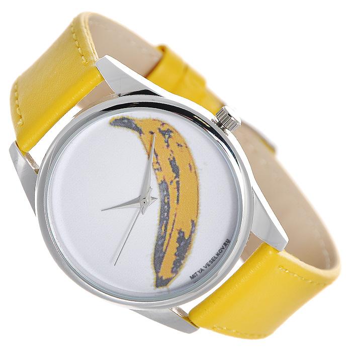 Zakazat.ru: Часы Mitya Veselkov Банан (желтый) . Color-31