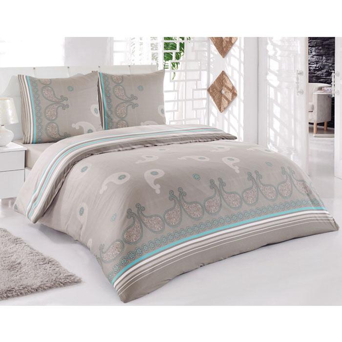 Комплект белья Tete-a-tete Дели (2-х спальный КПБ, сатин, наволочки 70х70), цвет: мокко, бирюзаCLP446Комплект постельного белья Tete-a-tete Дели является экологически безопасным для всей семьи, так как выполнен из натурального хлопка (сатина). Комплект состоит из простыни, пододеяльника и двух наволочек. Предметы комплекта оформлены оригинальным принтом в восточном стиле.Сатин производится из высших сортов хлопка, а своим блеском, легкостью и на ощупь напоминает шелк. Такая ткань рассчитана на 200 стирок и более. Постельное белье из сатина превращает жаркие летние ночи в прохладные и освежающие, а холодные зимние - в теплые и согревающие. Благодаря натуральному хлопку, комплект постельного белья из сатина приобретает способность пропускать воздух, давая возможность телу дышать. Одно из преимуществ материала в том, что он практически не мнется, и ваша спальня всегда будет аккуратной и нарядной. Характеристики: Страна: Турция. Материал: сатин (100% хлопок). Размер упаковки: 28 см х 36 см х 7 см. В комплект входят:Пододеяльник - 1 шт. Размер: 175 см х 215 см.Простыня - 1 шт. Размер: 220 см х 220 см.Наволочка - 2 шт. Размер: 70 см х 70 см. Коллекция постельного белья Tete-a-Tete - российская новинка, выполненная в лучших европейских традициях из роскошного премиум-сатина (более плотного и мягкого по сравнению с обычным сатином). Потребительские качества постельного белья Tete-a-Tete обусловлены выбором материала для пошива. Компания использует 100% египетский хлопок для изготовления тканей. Качество красителей и ткани надолго позволяют сохранить яркость цветов.