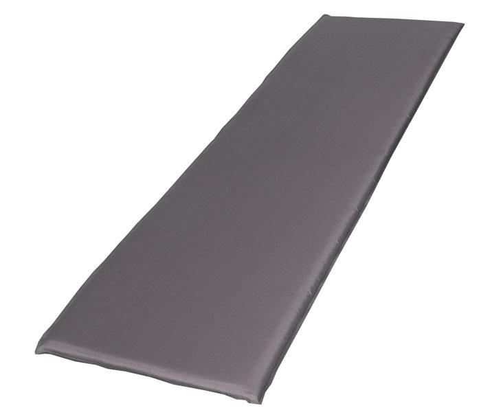 Коврик BAYARD,15727, Selfi M 38, цвет:серый с черным.Размер:183х51х3,815727Самонадувающийся туристический коврик Bayard Selfi M 38 средней ширины предназначен для теплоизоляции, например,между почвой и телом лежащего человека, а также для предохранения спального мешка от повреждений и влаги. Очень простой в использовании, легко и быстро надувается, компактный и легкий. Для того, чтобы надуть коврик, просто откройте клапан, через пару минут коврик расправится и закройте клапан. Коврик готов к использованию! Он не даст вам замерзнуть и сделает отдых более комфортным даже на корнях или на камнях. Увеличенная толщина дает дополнительный комфорт. Изделие отличается прочностью и износостойкостью. Характеристики:Цвет:серый с черным.Материал: Ткань внешняя: 100% полиэстерТип наполнителя: вспененный полиуретан . Сезон:весна/лето. Размер упаковки (ДхШхВ), см: 56х28х36.