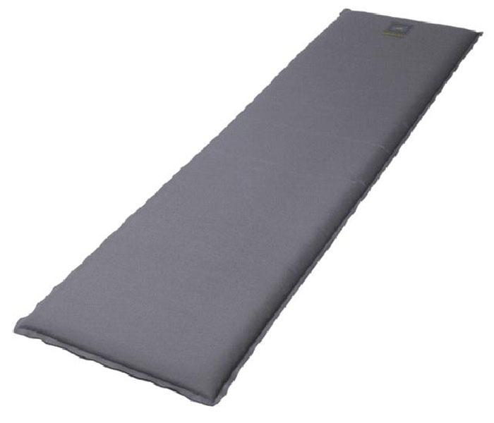 Коврик BAYARD,15765,Selfi M 51 Т, цвет:серый с черным. Размер:183х51х5,115765Самонадувающийся туристический коврик Bayard Selfi M 51 T предназначен для теплоизоляции, например,между почвой и телом лежащего человека, а также для предохранения спального мешка от повреждений и влаги. Очень простой в использовании, легко и быстро надувается, компактный и легкий. Для того, чтобы надуть коврик, просто откройте клапан, через пару минут коврик расправится и закройте клапан. Коврик готов к использованию! Он не даст вам замерзнуть и сделает отдых более комфортным даже на корнях или на камнях. Увеличенная толщина дает дополнительный комфорт. Изделие отличается прочностью и износостойкостью. Характеристики:Цвет:серый с черным.Материал:Ткань внешняя: 100% полиэстер.Тип наполнителя: вспененный полиуретан.Клапан: медный. Сезон:весна/лето. Размер упаковки (ДхШхВ), см: 56х31х29.