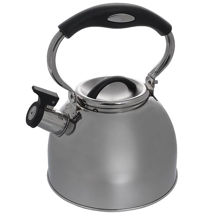Чайник Mayer & Boch со свистком, 3 л68/5/3Чайник Mayer & Boch изготовлен из высококачественной нержавеющей стали. Гладкая и ровная поверхность существенно облегчает уход. Выполненный из качественных материалов чайник при кипячении сохраняет все полезные свойства воды. Специальное дно позволяет сохранять тепло и равномерно распространять его по всей поверхности чайника. Чайник оснащен пластиковой удобной ручкой, а носик чайника с насадкой-свистком позволит вам контролировать процесс подогрева или кипячения воды. Можно использовать на всех видах плит, включая индукционные. Можно мыть в посудомоечной машине. Характеристики:Материал:сталь, пластик. Цвет:серебристый. Объем:3 л. Диаметр основания чайника:19 см. Высота чайника (с учетом ручки):27 см. Высота чайника (без учета ручки):15 см. Размер упаковки:20 см х 20 см х 17 см. Артикул:МВ-21426.