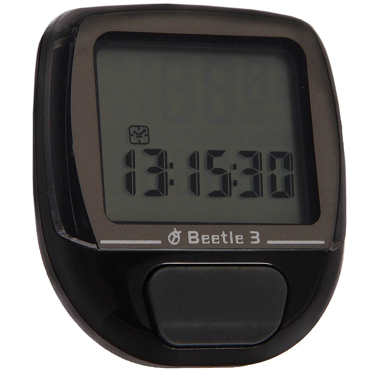 Велокомпьютер Beetle-3, 8 функций, цвет: черный велокомпьютер echowell beetle 3 10 функций черный