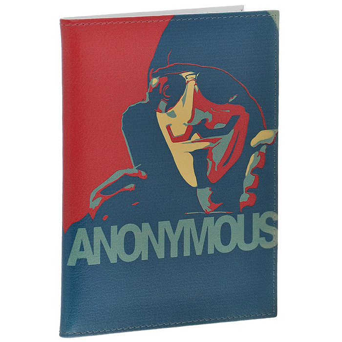 Обложка для паспорта Perfecto Anonymous. PS-PR-0058595Оригинальная обложка для паспорта Anonymous, выполненная из натуральной кожи, оформлена изображением мужчины в черных очках и капюшоне. На внутреннем развороте - два кармашка из прозрачного пластика. Обложка не только поможет сохранить внешний вид ваших документов и защитит их от повреждений, но и станет стильным аксессуаром, который подчеркнет ваш неповторимый стиль. Характеристики:Материал: натуральная кожа, пластик. Размер обложки: 9,5 см х 13,7 см. Размер упаковки: 11 см х 14,5 см х 1 см. Артикул: PS-PR-0058.