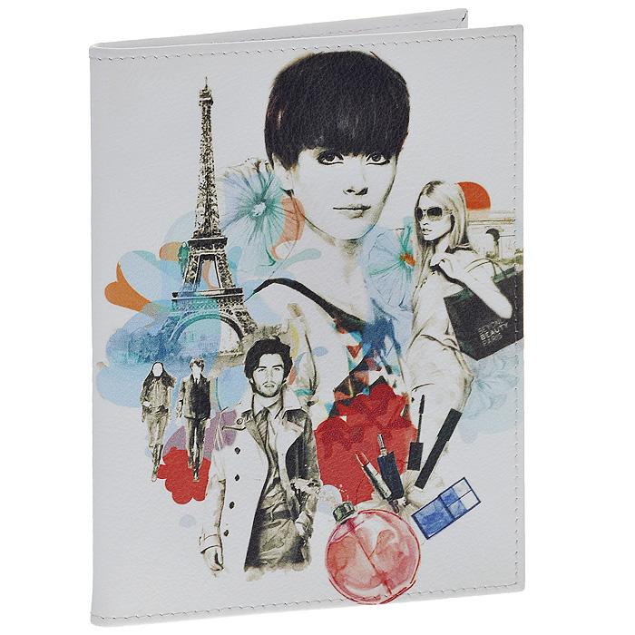 Обложка для паспорта Perfecto Parisian Fashion. PS-GL-003129058Стильная обложка Parisian Fashion выполнена из натуральной кожи белого цвета и оформлена ярким принтом на тему парижской моды. На внутреннем развороте - два кармашка из прозрачного пластика. Обложка не только поможет сохранить внешний вид ваших документов и защитит их от повреждений, но и станет стильным аксессуаром, который подчеркнет ваш неповторимый стиль. Характеристики:Материал: натуральная кожа, пластик. Цвет: белый. Размер обложки: 9,5 см х 13,7 см. Размер упаковки: 11 см х 14,5 см х 1 см. Артикул: PS-GL-0031.
